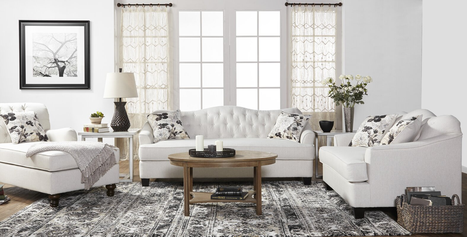 $2529.97 New Britain 3 Piece Living Room Set - dealepic