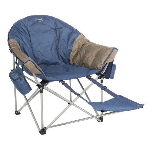 Kozy Folding Camping Chair With Cushion By Kamp-Rite