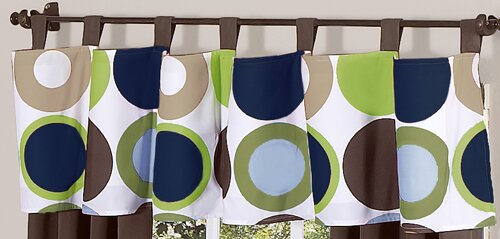 Designer Dot 84 Curtain Valance by Sweet Jojo Designs