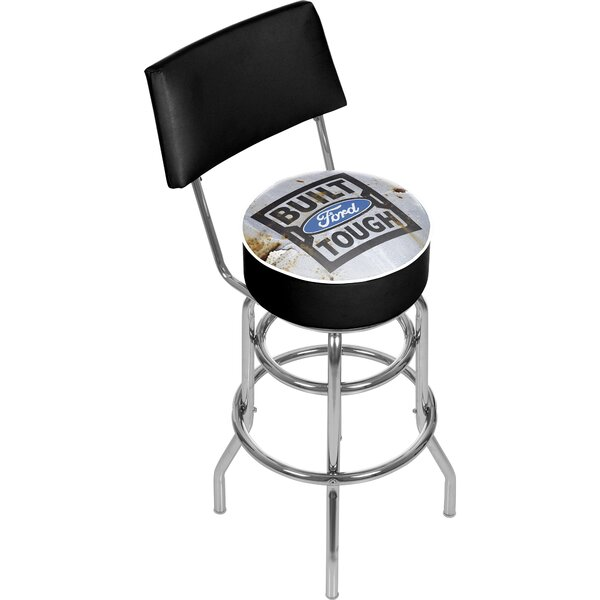 6026b5969e3 Shop For Low Price 31 Swivel Bar Stool By Trademark Global .price ...