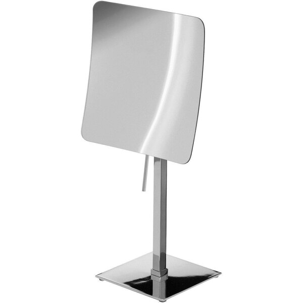 Korando Square Single Sided Makeup/Shaving Mirror by Symple Stuff