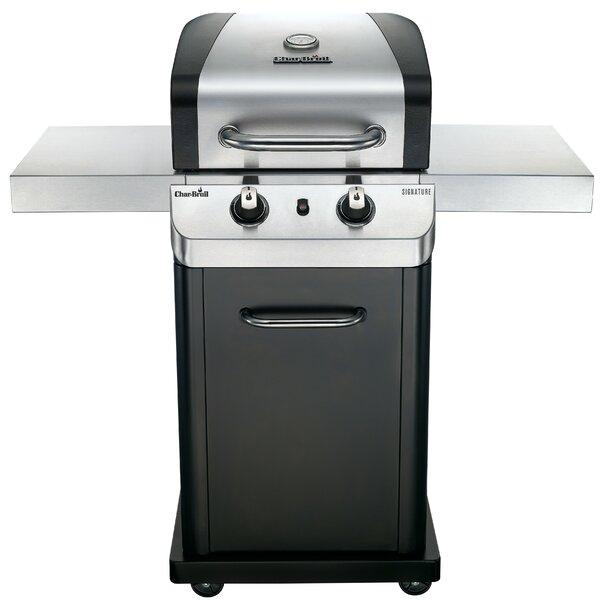 Signature 2-Burner Propane Gas Grill with Cabinet by Char-Broil
