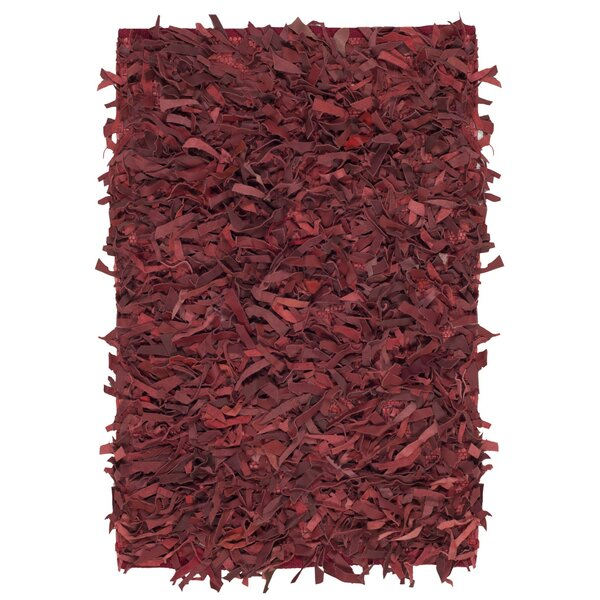 Albany Hand-Knotted Red Area Rug by Zipcode Design