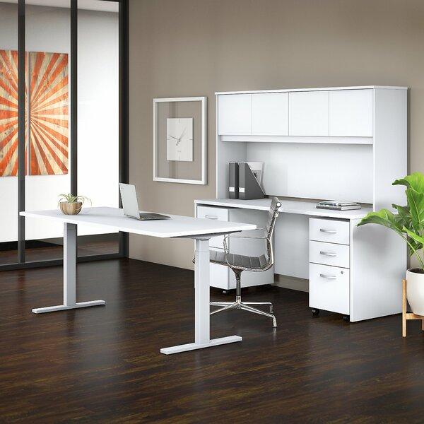 Studio C 5 Piece Desk Office Suite by Bush Business Furniture