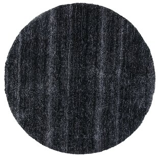 Best Bouvier Black Heather Area Rug By Wrought Studio