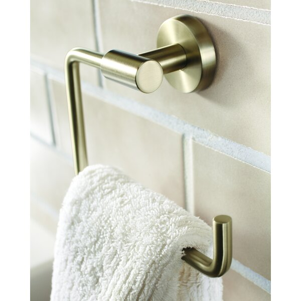 Arrondi™ Wall Mounted Towel Ring by Amerock