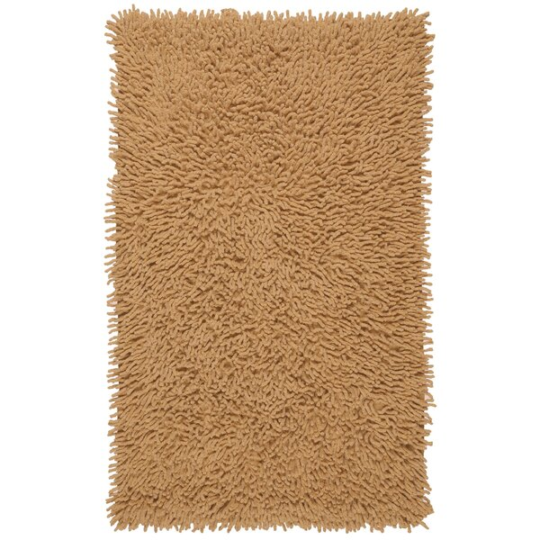 Shagadelic Hand-Loomed Tan Area Rug by St. Croix
