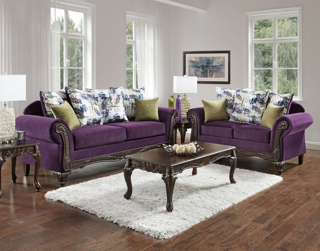 Gray And Purple Living Room Grey And Purple Living Room Gray And ...