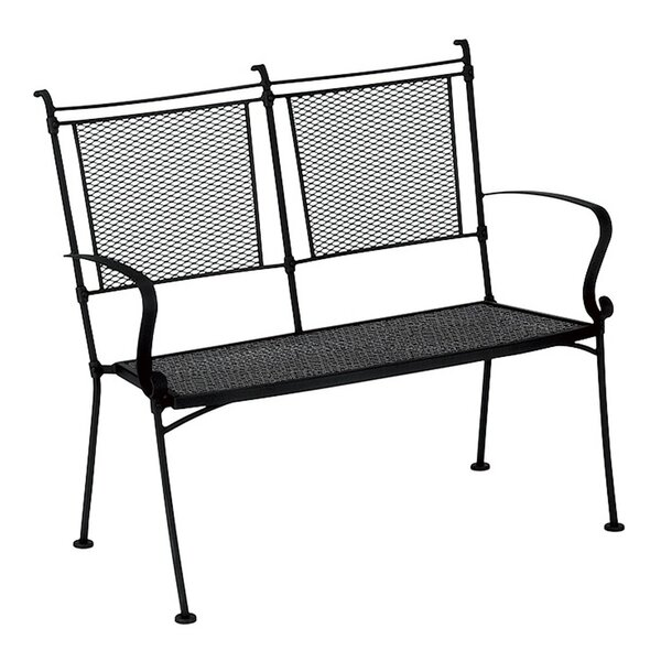 Bradford Metal Garden Bench by Woodard