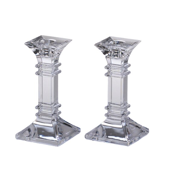 Treviso Crystal Candlestick (Set of 2) by Marquis