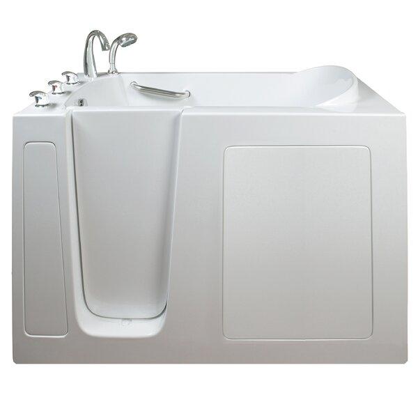 Narrow Wide Whirlpool Walk-In Tub by Ella Walk In Baths