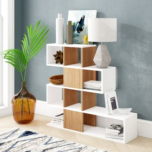 Dakota Geometric Bookcase