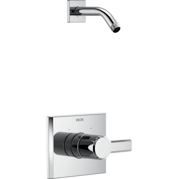 Pivotal Monitor 14 Series Shower Faucet Trim Less Head with Monitor by Delta