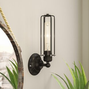 Compare Hingham 1-Light Armed Sconce By Trent Austin Design