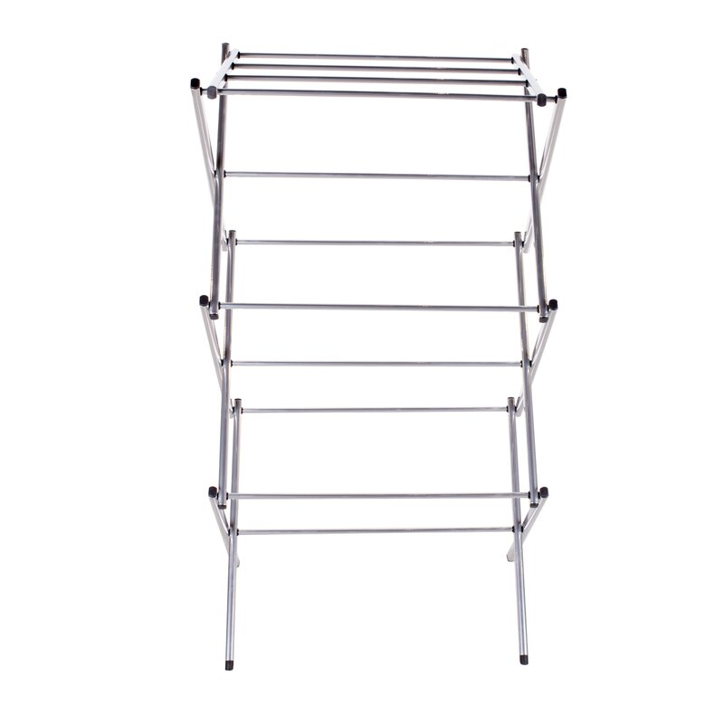 foldable three product woolworths detail tier folding drying buy rack