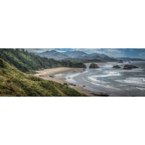 'Coastal Serenity' Photographic Print on Canvas by East Urban Home
