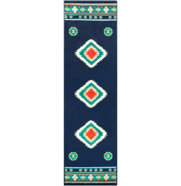 Thornton Blue/Green Area Rug by Millwood Pines