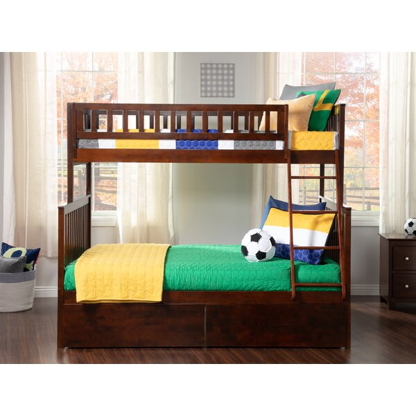 Shyann Twin Over Full Bunk Bed with 2 Drawers by Viv + Rae