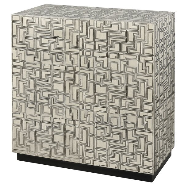 Bloomsbury 2 Door Accent Cabinet by World Menagerie World Menagerie