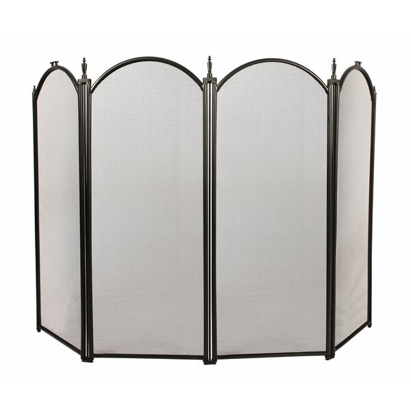 4 Panel Steel Fireplace Screens By 1. GO