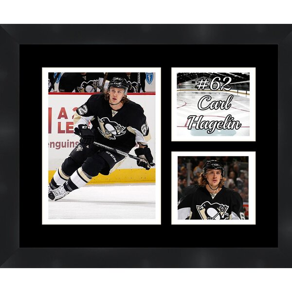 Pittsburgh Penguins Carl Hagelin 62 Collage Picture Framed Photographic Print by Frames By Mail