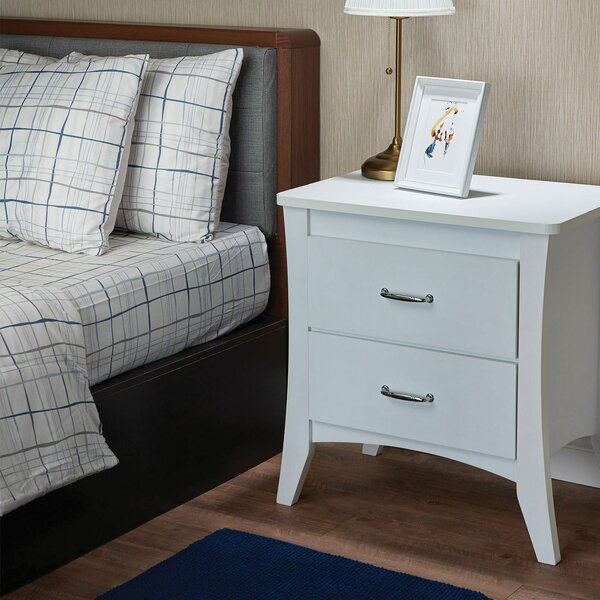 Jordy 2 Drawer Nightstand by Ebern Designs