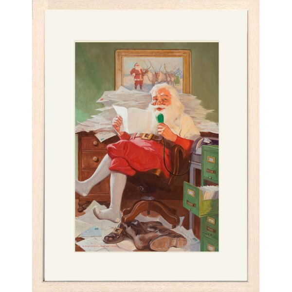 Christmas Letters Framed Print of Painting by Buyenlarge