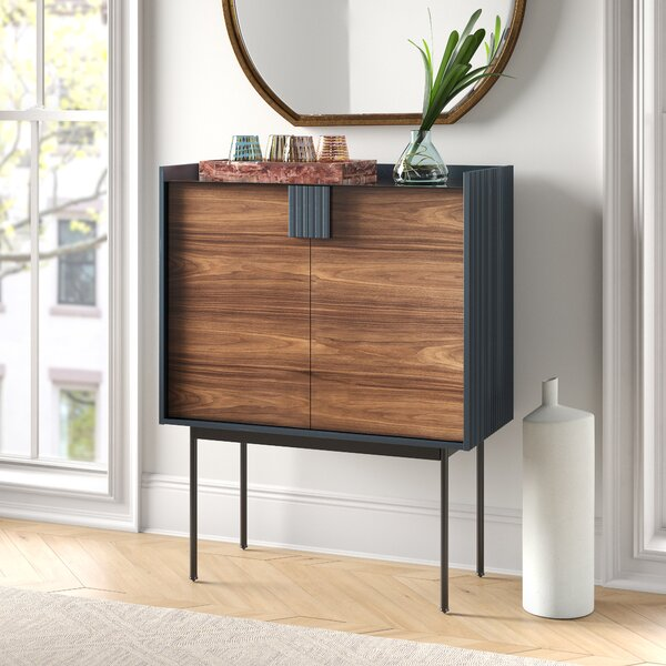 Anika Bar Cabinet by Foundstone Foundstone