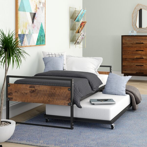 Barrett Twin Daybed With Trundle By Trule Teen