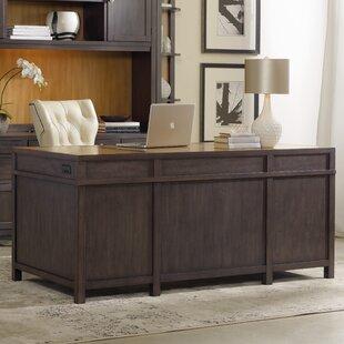 South Park Solid Wood Executive Desk