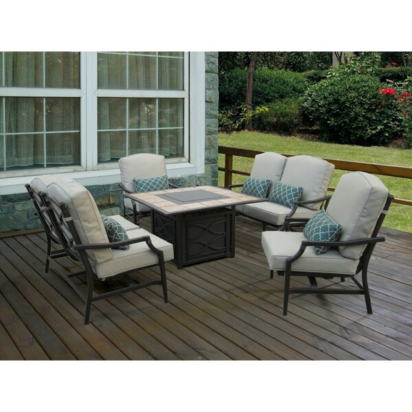 Parker Loveseat with Cushions (Set of 2) by Winston Porter Winston Porter