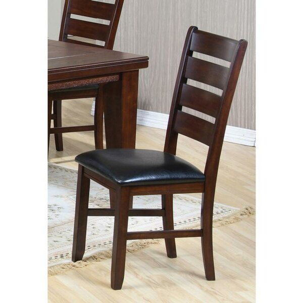 Rensselear Upholstered Dining Chair (Set of 2) by Winston Porter