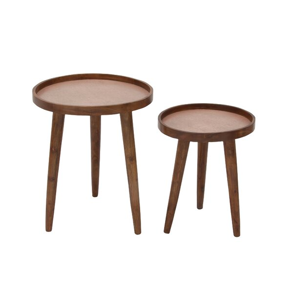 Jourdan 2 Piece Nesting Tables by George Oliver