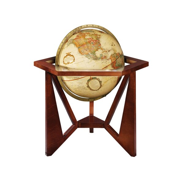 Frank Lloyd Wright® San Marcos Desk Globe by Replogle Globes