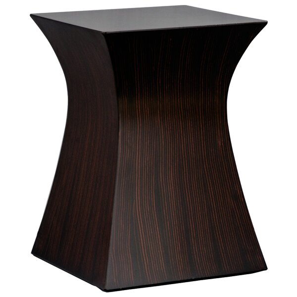 Safire Hourglass End Table by Charlton Home Charlton Home