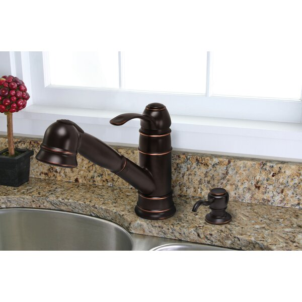 Wellington Pull Out Kitchen Faucet by Premier Faucet