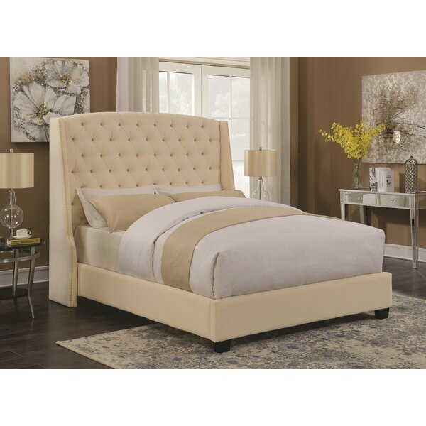 Nyle Upholstered Standard Bed by Rosdorf Park