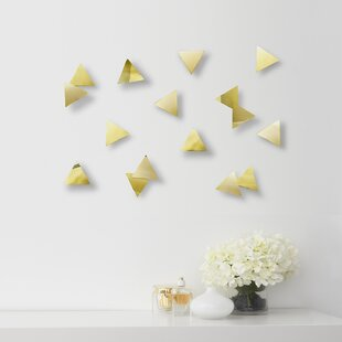 Confetti Triangles Wall Décor (Set Of 16). By Umbra