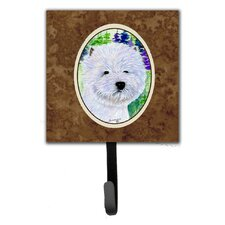 Westie Leash Holder and Wall Hook by Caroline's Treasures