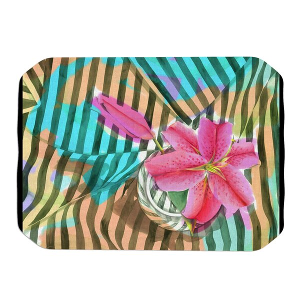 Lilly N Stripes Placemat by KESS InHouse