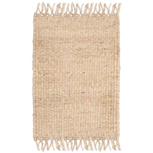 Lookout Fiber Hand-Woven Ivory Area Rug by Laurel Foundry Modern Farmhouse