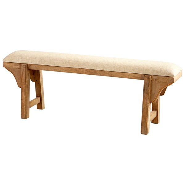 Gable Wood Bench by Cyan Design