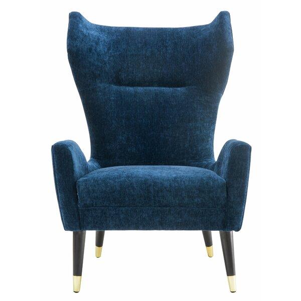 Borough Wingback Chair by Corrigan Studio