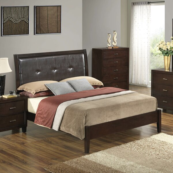 Weatherspoon Upholstered Standard Bed by Charlton Home