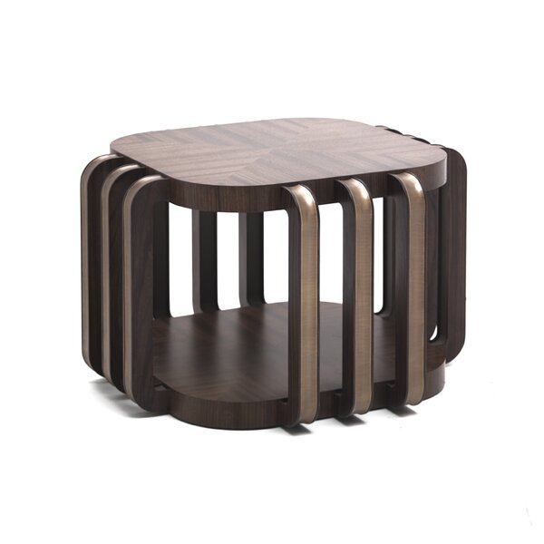 Annibale Colombo Wood Top Coffee Tables