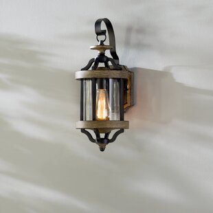Buy luxury Elisabetta 1-Light Outdoor Wall Lantern By Laurel Foundry Modern Farmhouse