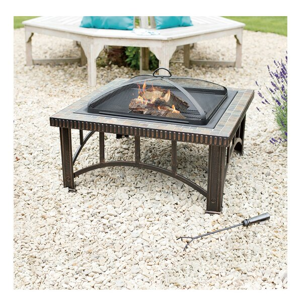 Steel Fire Pit by Jeco Inc.
