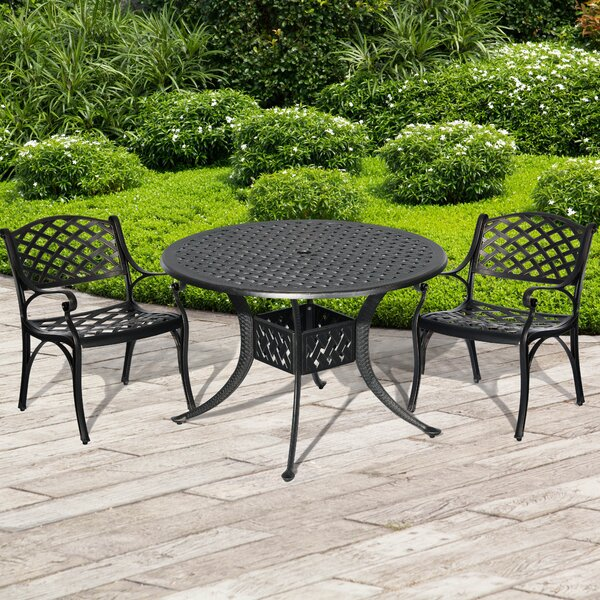 Jilly 3 Piece Bistro Set by Red Barrel Studio