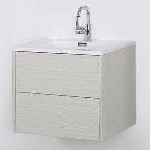 Big Save 24 Wall-Mounted Single Bathroom Vanity Set ByStreamline Bath