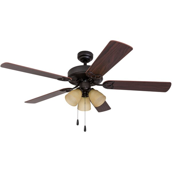 52 Cumberbatch 5 Blade LED Ceiling Fan by Charlton Home